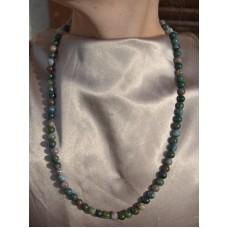 Indijski ahat ogrlica