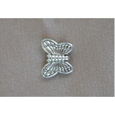 Metuljček iz tibetanskega srebra