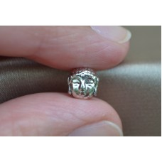Buddha kroglica iz tibetanskega srebra
